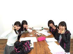 New girls on the block: Haruna - Akane - Maria & Miki :)