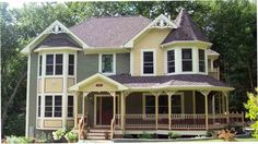 Overton House Plan - 5859-House plan not quite ideal (3 tiny kids rooms! no!) but this house is GORGEOUS.