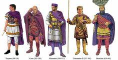 Graham Sumner - Emperadores de Roma, de Trajano a Heraclio.