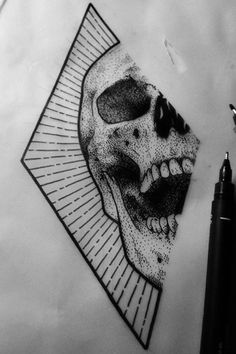 Halloween Tattoos for People who Live to Explo Art Drawings Sketches, Tattoo Sketches, Tattoo Drawings, Cool Drawings, I Tattoo, Sugar Tattoo, Tattoo Quotes, Tattoo Forearm, Yakuza Tattoo