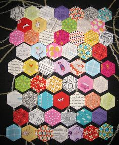 This has me yearning to start a hexagon project today.