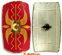 Roman Wooden Medieval Shield