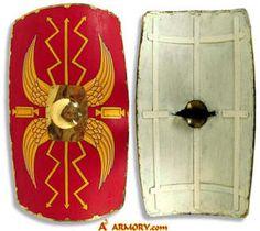 Roman Wooden Medieval Shield