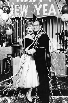 "classic-hollywood-glam: ""Lucille Ball and Bob Hope """