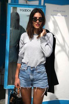5 Of The Coolest Ways To Wear Denim Cutoffs