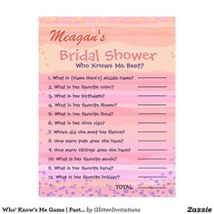 Who' Know's Me Game | Pastel Watercolor Rainbow Postcard