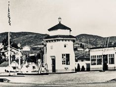 """Stu News Laguna on Instagram: """"Take a look back at the lifeguard tower in 1928 in today's new edition. This photo shows it about a decade prior to its relocation across…"""" New Edition, Lifeguard, A Decade, Laguna Beach, Looking Back, Tower, News, Instagram, Rook"""