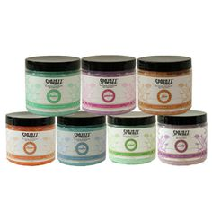 Spazazz Elements Aromatherapy Natural Crystals for Spa or Bath 7 Pack