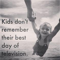 no es su mejor día de televisión lo que recordarán  #crianza #papasblogueros