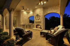 The ideal outdoor living space large enough to host all of your friends and family for any occasion. It also features an outdoor kitchen and fireplace. Frisco, TX Coldwell Banker Residential Brokerage $2,750,000