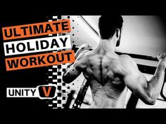 Whole Body Workout [Overhead Press & Pull Up] Whole Body Workouts, Holiday Workout, Overhead Press, Morning Motivation