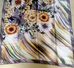 ARMINE 2014 Seidentuch Kopftuch Schal Tuch Hijab Esarp 100% Seide/Silk OVP EDEL