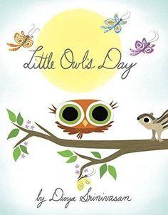 Little Owl's Day (Board book)