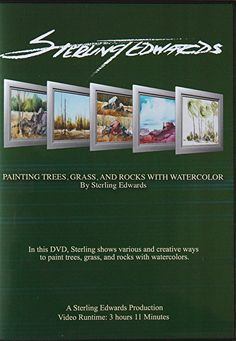 """""""NEW"""" Digital Download...Painting Trees, Grass, and Rocks with Watercolor: $34.95 by sterling edwards  ~  x"""
