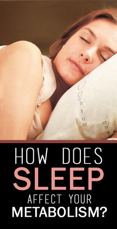 Well, there is a lot to the relation between sleep and metabolism. Would you like to know what it is? Go ahead with your read!