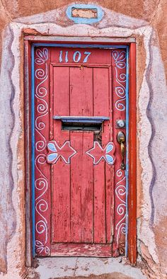 Red Door - Santa Fe by Eric Brown on 500px