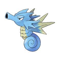 Seadra (Pokémon) ❤ liked on Polyvore featuring pokemon