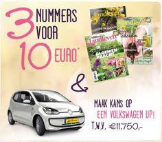 3 Magazines Landleven Voor Slechts 10 Euro !!! Hou jij ook van buiten leven en wonen? Ontvang dan nu 3 magazines Landleven van 164 pagina's boordevol tuintips, lekkere gerechten, creatieve doe-het-zelf artikelen, natuur, dieren, buitenreportages, ... en nog veel veel meer. Bovendien maak je nog kans om een schitterende extra prijs te winnen.  Ontdek de actie hier ==> http://gratisprijzenwinnen.be/3-magazines-landleven-voor-slechts-10-euro/  #korting #buiten #tuin #eten #doehetzelf #natuur