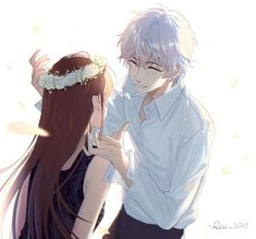MC x Saeran - Mystic Messenger Anime Love Couple, Manga Couple, Cute Anime Couples, Couple Art, Mystic Messenger Unknown, Mystic Messenger Game, Mystic Messenger Characters, Vampire Knight, Jumin X Mc
