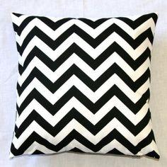 "With Love Home Decor - 18"" x 18"" Chevron Zig Zag Decorative Accent Pillow Multiple Colors, $13.99 (http://www.withlovehomedecor.com/products/18-x-18-chevron-zig-zag-decorative-accent-pillow-multiple-colors.html)"