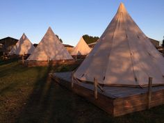 "Pinewood Park, Scarborough - Glossy Glamping. Yorkshire's original Glamping site. Award winning & Visit England 4 * Rated. Read more via ""Camping News""."