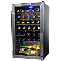 NewAir AWC-330E 33 Bottle Compressor Wine Cooler