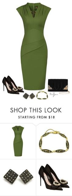 """Untitled #678"" by mandyjeanb87 on Polyvore featuring Jolie Moi, Miu Miu and La Regale"