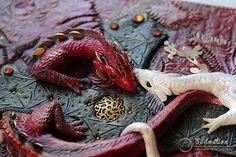 Сказочные обложки из полимерной глины дизайнера Aniko Kolesnikova - Ярмарка Мастеров - ручная работа, handmade