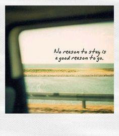 no reason...