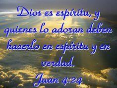 Juan: 4:24