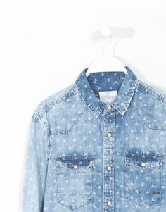 CAMISA DENIM PRINT - LEFTIES México