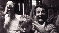 Jack Kerouac with Lucien Carr, at The Harmony Bar, NYC, 1959 Clique na foto para garantir livros da Beat Generation.