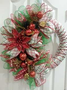 For Sale: Angel's Heavenly Crafts on Facebook Handmade Ribbon & Deco Mesh Wreath - Central Charlotte, NC Buy & Sell - Charlotte, NC, US - VarageSale