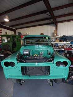 1958 Chevrolet Apache - We attached the fenders and front clip to the rest of the body. If you need your car restored, contact us @  http://www.texomaclassics.com