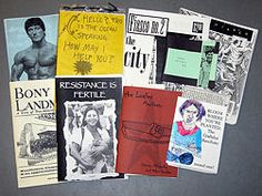 Make a Zine - some ideas to consider for topic, logo, title...