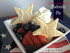 fresh berry {deconstructed} pies