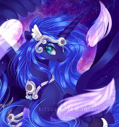 Empress Luna by kkitsu.deviantart.com on @DeviantArt