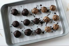 """Whip Up These Paleo """"Peanut"""" Butter Truffles in Just 20 Minutes!"""