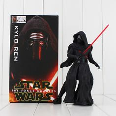 New Star Wars Crazy Toys The Force Awakens KYLO REN PVC Action Figure Anime Collectible Kids Toys 20cm //Price: $45.83 & FREE Shipping //   #fairytail #anime