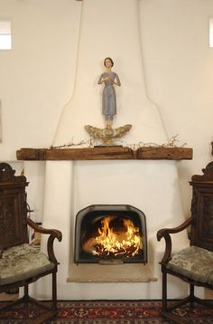 This fireplace...