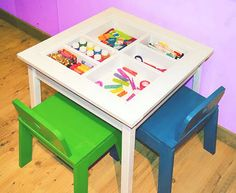Build an Art Table with Built-In Storage