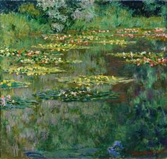 Waterlilies or The Water Lily Pond, 1904, Denver Art Museum Claude Monet