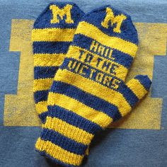 Men's Go Team Mittens by katbaro, via Flickr