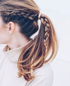Love this braid as a nice accent