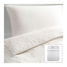 OFELIA VASS Funda nórd y 2 fundas almohada IKEA Ropa de cama muy suave y resistente, ya que es de un tejido denso de hilo fino. 34,99€