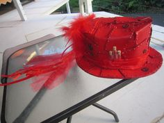 Steam Punk Hat for 2016 HHH Red Dress Run