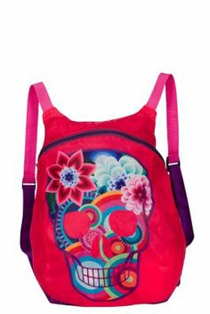 Desigual girl's Malade nylon rucksack. It's as light as a feather.