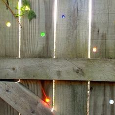 Good idea...marbles and drilled out holes....
