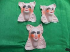French Boudoir Doll heads/faces