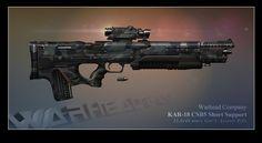 KAR-18 CSB5 Short Support by BlackDonner on DeviantArt
